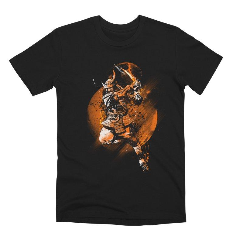 MOON SLICER Men's Premium T-Shirt by AGIMATNIINGKONG's Artist Shop