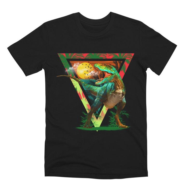 RAWWR!!! Men's Premium T-Shirt by AGIMATNIINGKONG's Artist Shop