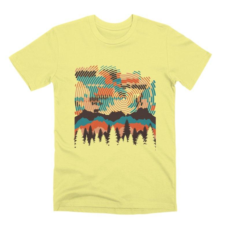 MOUNTAIN VIEW Men's Premium T-Shirt by AGIMATNIINGKONG's Artist Shop