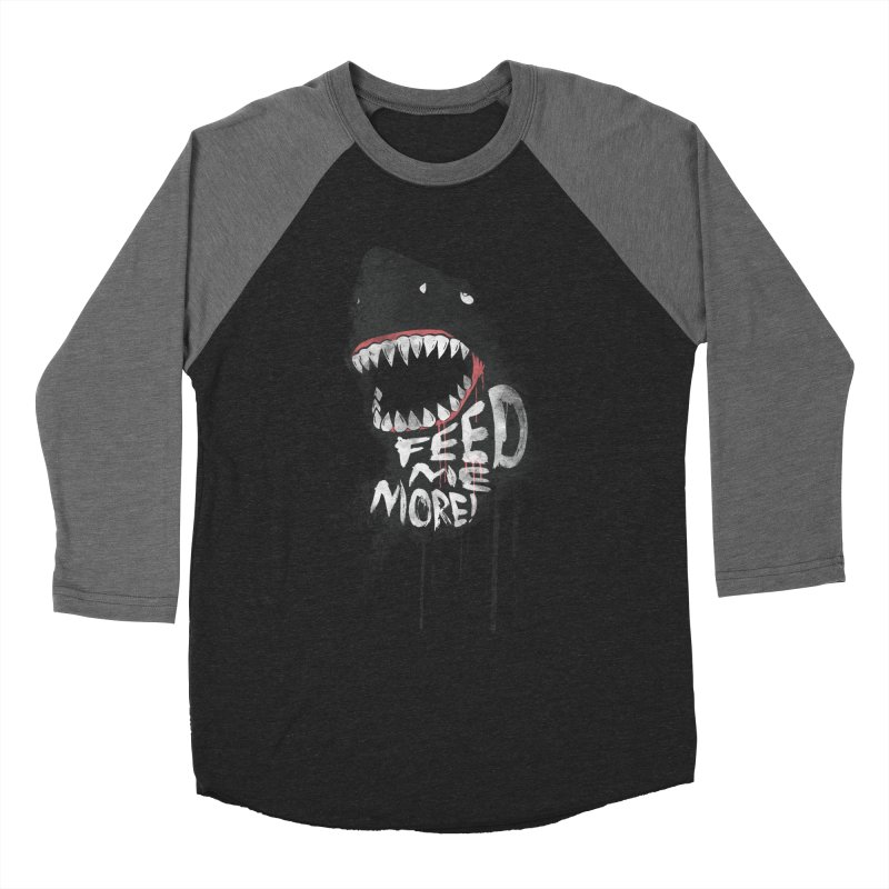 Feed Me More Men's Longsleeve T-Shirt by AGIMATNIINGKONG's Artist Shop