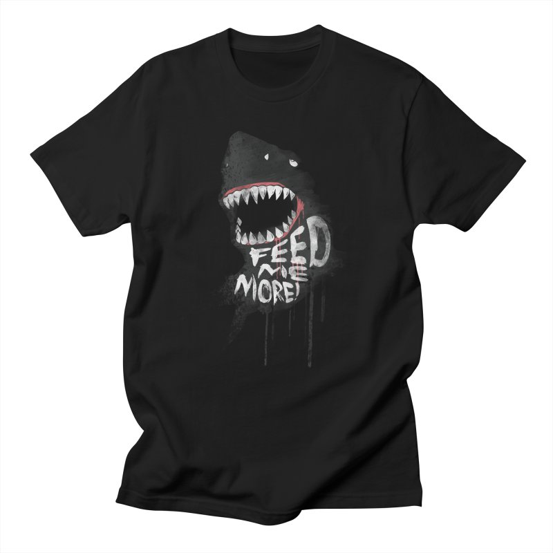 Feed Me More Men's T-Shirt by AGIMATNIINGKONG's Artist Shop