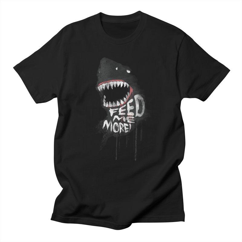 Feed Me More Men's T-shirt by AGIMATNIINGKONG's Artist Shop