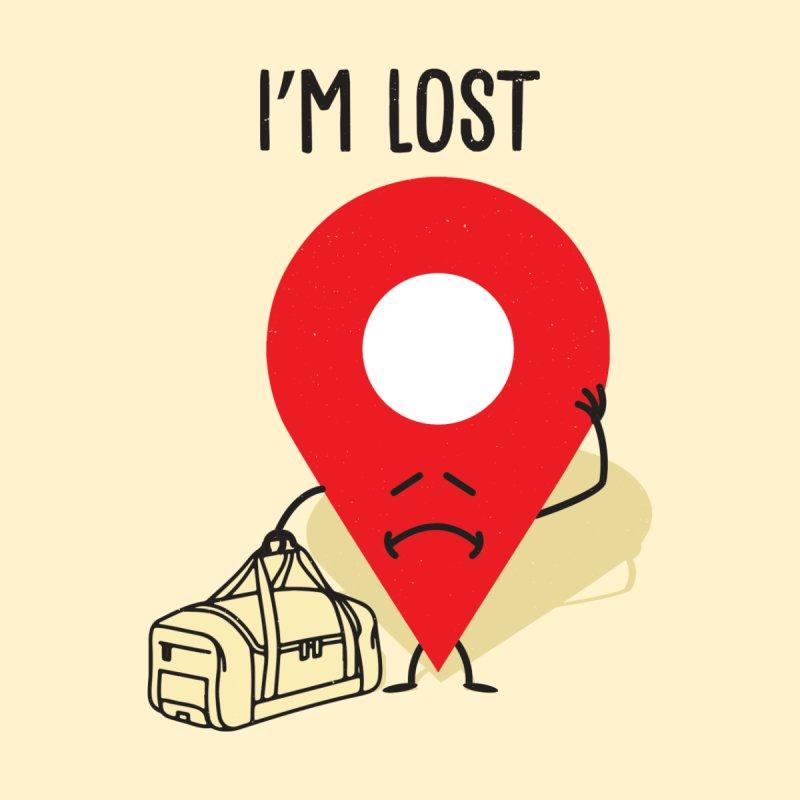 I'M LOST Men's T-Shirt by AGIMATNIINGKONG's Artist Shop