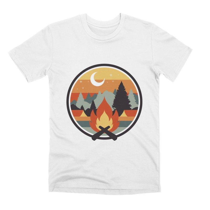 GREAT OUTDOOR Men's Premium T-Shirt by AGIMATNIINGKONG's Artist Shop