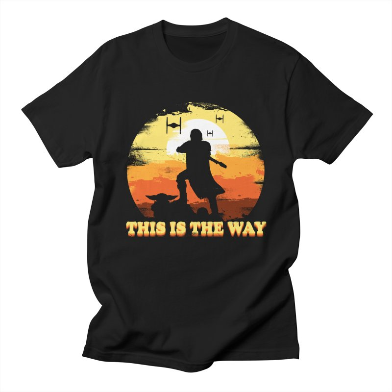 THIS IS THE WAY Men's Regular T-Shirt by AGIMATNIINGKONG's Artist Shop
