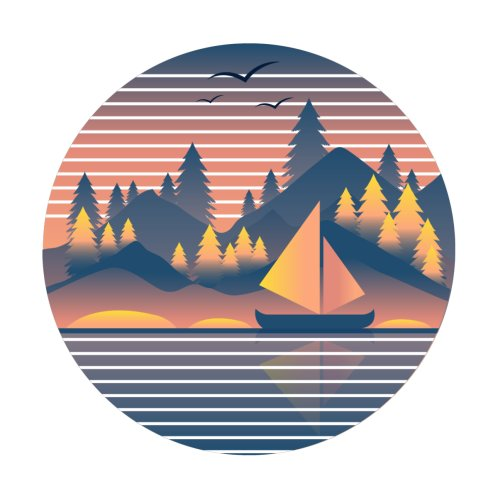 Design for SAILING ON MOONLIGHT