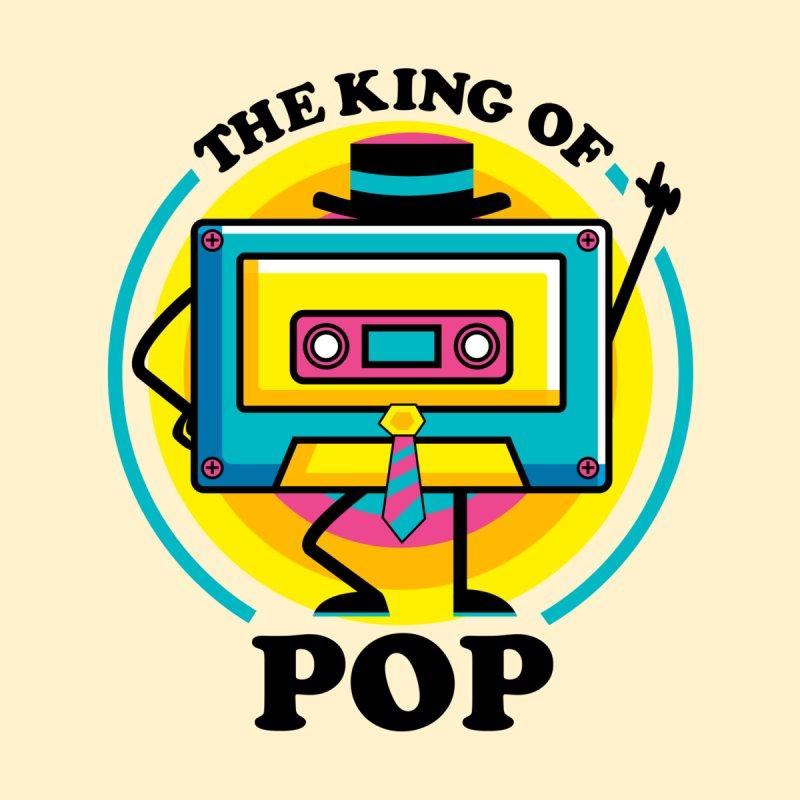 THE KING OF POP Men's T-Shirt by AGIMATNIINGKONG's Artist Shop