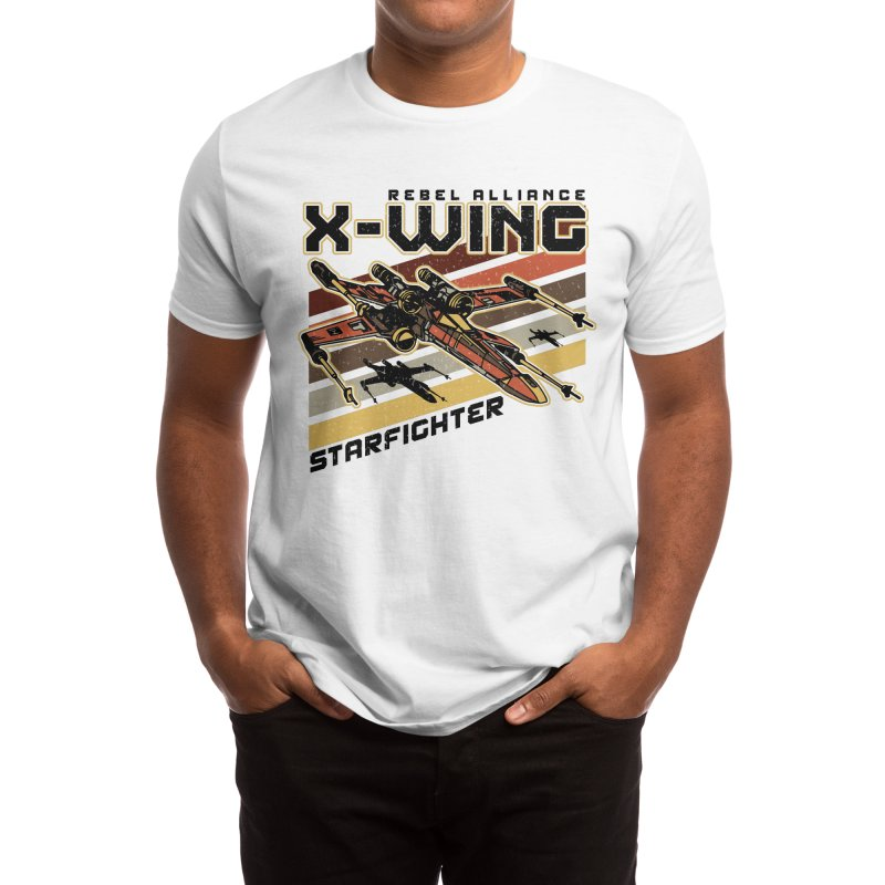 STARFIGHTER Men's T-Shirt by AGIMATNIINGKONG's Artist Shop