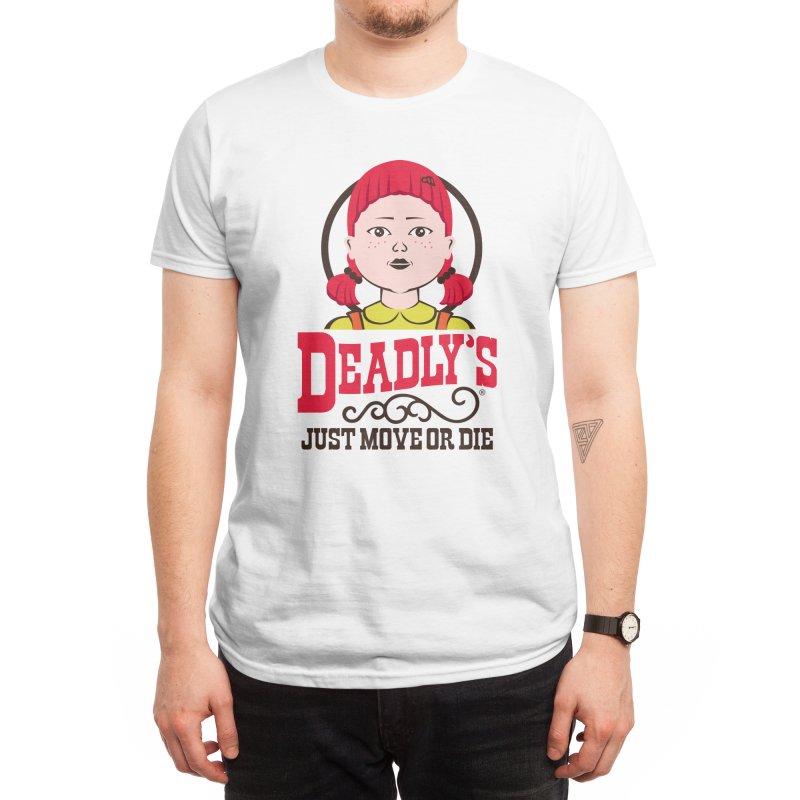 DEADLY'S Men's T-Shirt by AGIMATNIINGKONG's Artist Shop