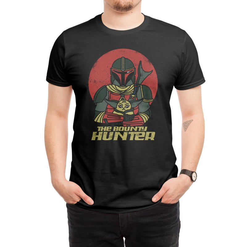 BOUNTY HUNTER Men's T-Shirt by AGIMATNIINGKONG's Artist Shop