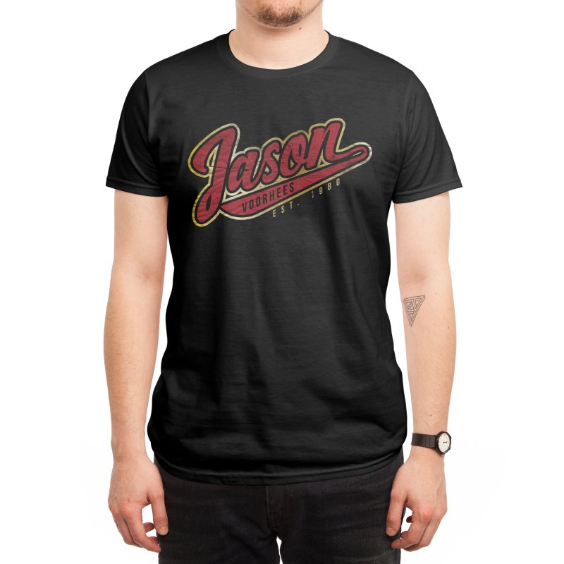 JASON VARSITY Men's T-Shirt by AGIMATNIINGKONG's Artist Shop