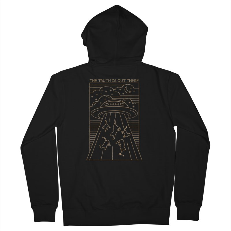 CAT COLLECTOR Men's Zip-Up Hoody by AGIMATNIINGKONG's Artist Shop
