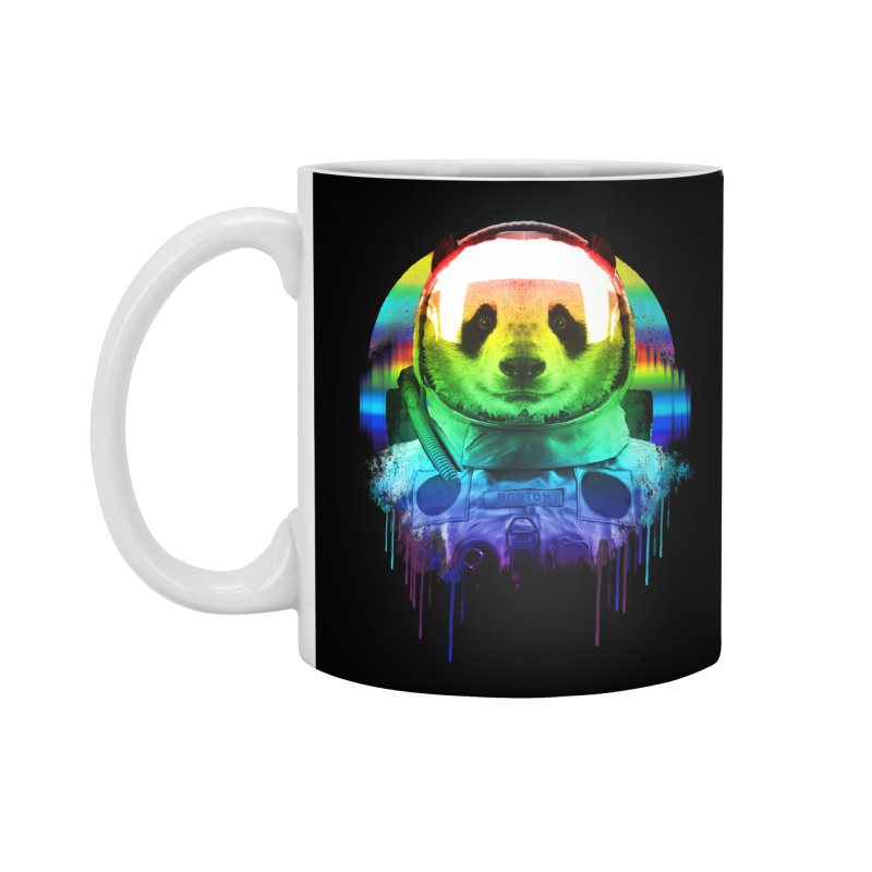 SPACE PANDA Accessories Mug by AGIMATNIINGKONG's Artist Shop
