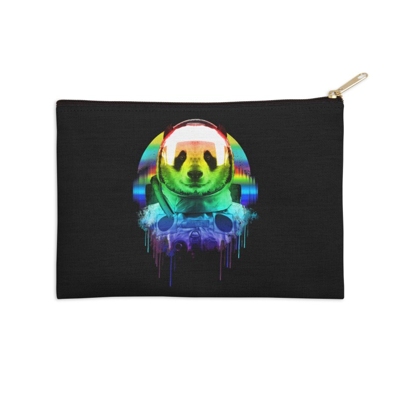 SPACE PANDA Accessories Zip Pouch by AGIMATNIINGKONG's Artist Shop