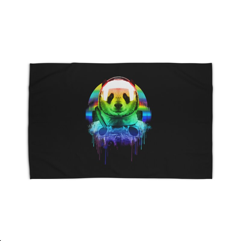 SPACE PANDA Home Rug by AGIMATNIINGKONG's Artist Shop