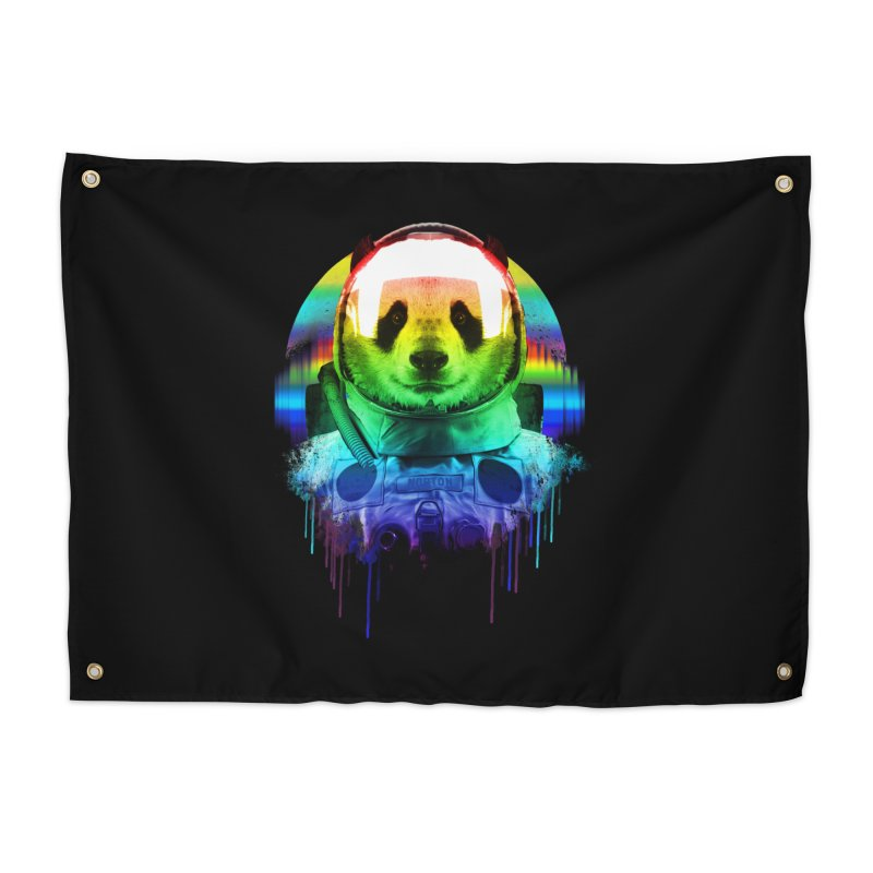 SPACE PANDA Home Tapestry by AGIMATNIINGKONG's Artist Shop