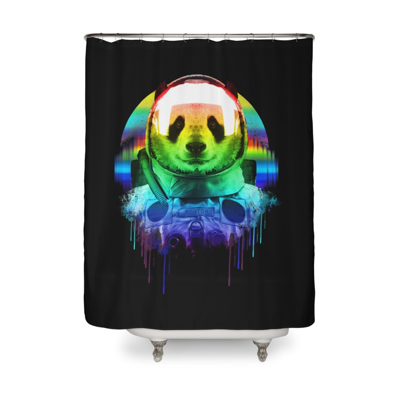 SPACE PANDA Home Shower Curtain by AGIMATNIINGKONG's Artist Shop