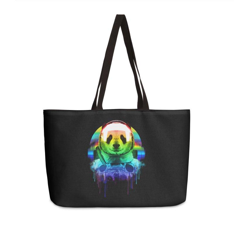 SPACE PANDA Accessories Weekender Bag Bag by AGIMATNIINGKONG's Artist Shop
