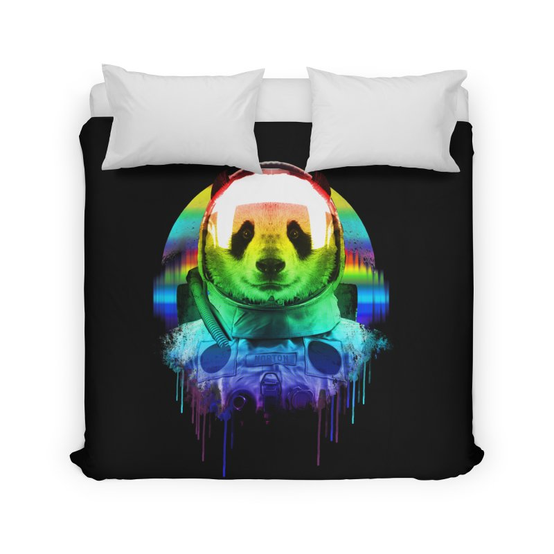 SPACE PANDA Home Duvet by AGIMATNIINGKONG's Artist Shop