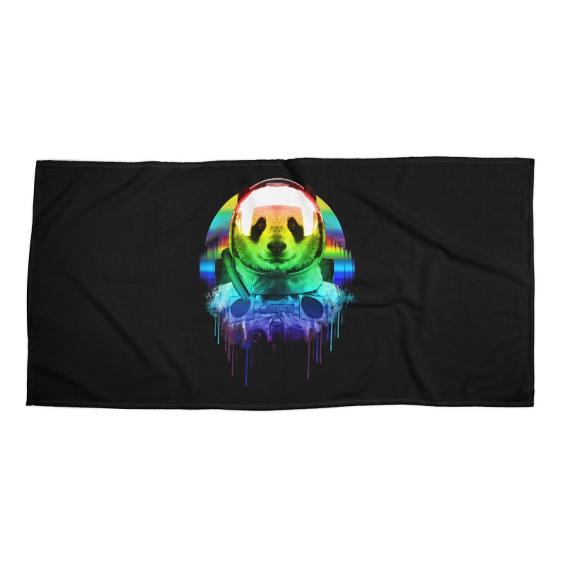 SPACE PANDA Accessories Beach Towel by AGIMATNIINGKONG's Artist Shop