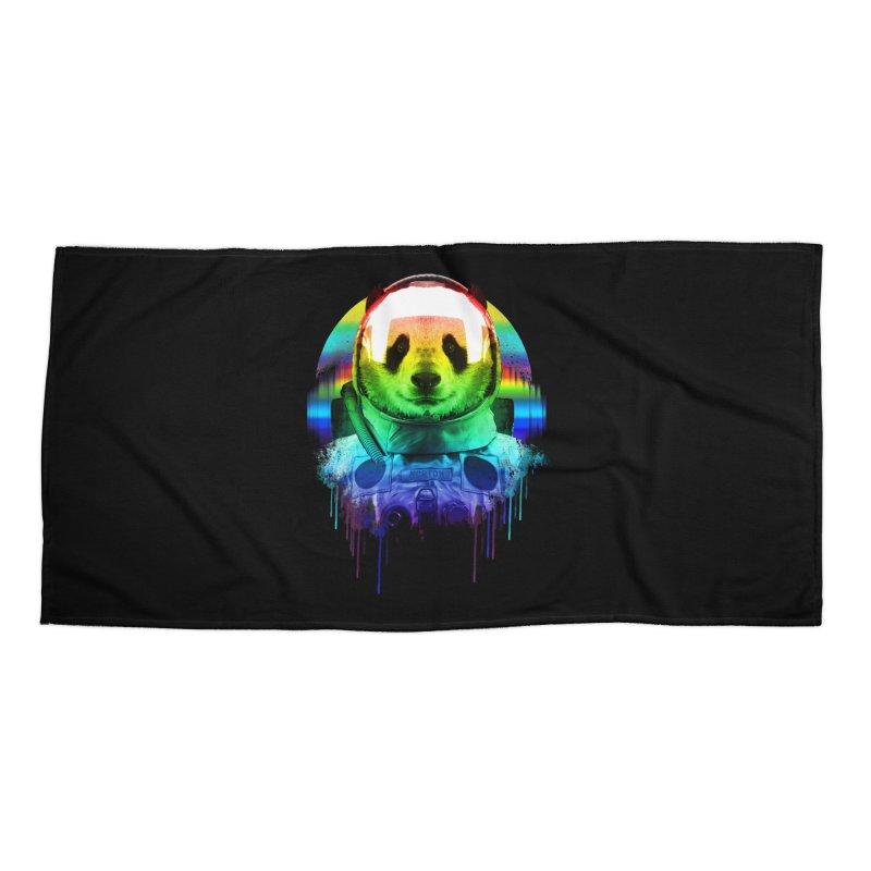 SPACE PANDA Accessories Beach Towel by AGIMATNIINGKONG's Artist Shop