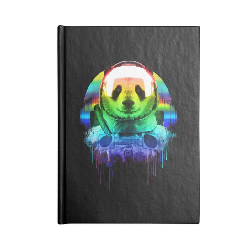 SPACE PANDA Accessories Lined Journal Notebook by AGIMATNIINGKONG's Artist Shop