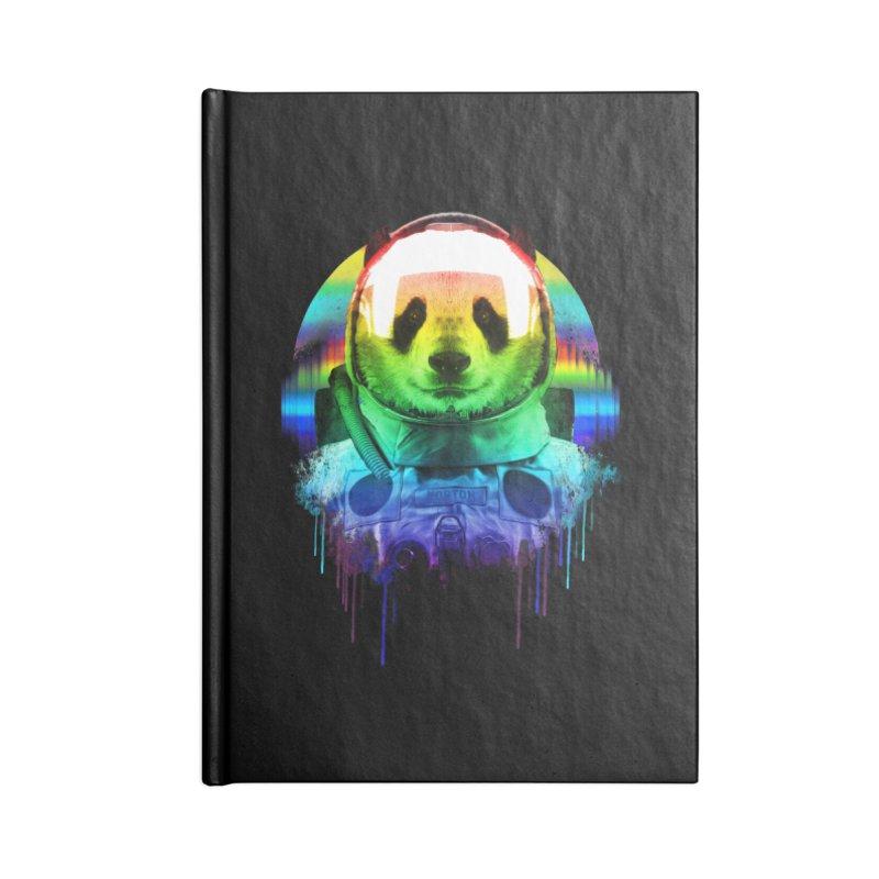 SPACE PANDA Accessories Blank Journal Notebook by AGIMATNIINGKONG's Artist Shop