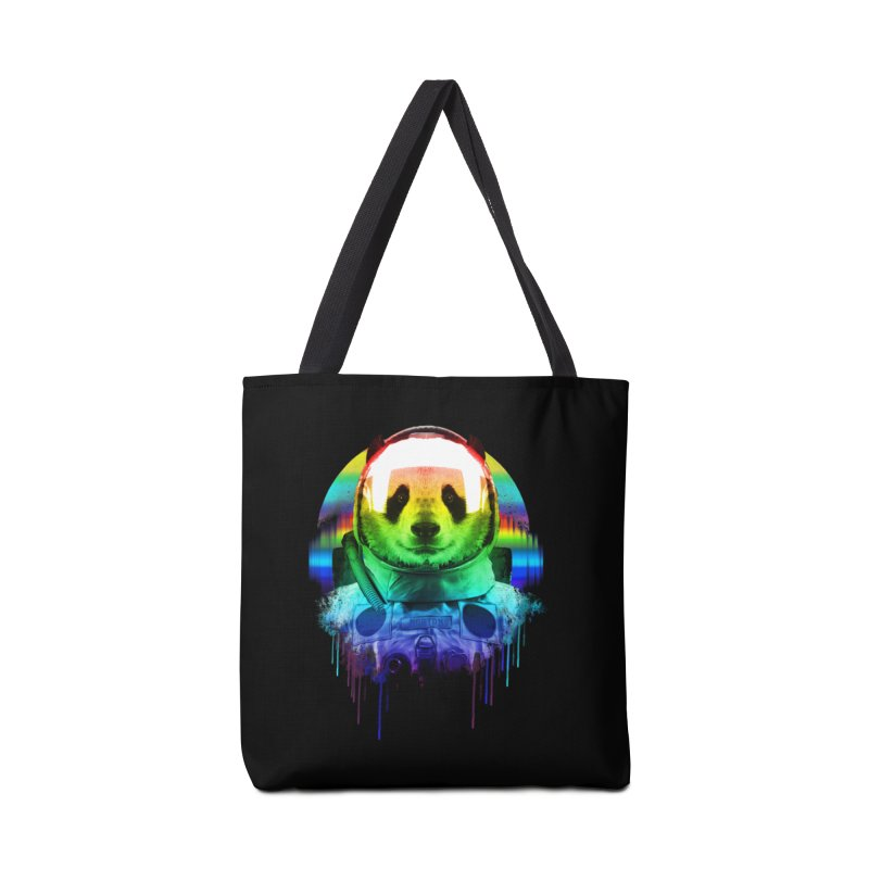 SPACE PANDA Accessories Tote Bag Bag by AGIMATNIINGKONG's Artist Shop