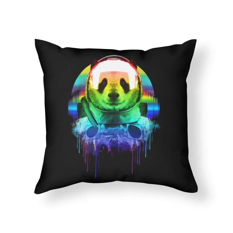 SPACE PANDA Home Throw Pillow by AGIMATNIINGKONG's Artist Shop