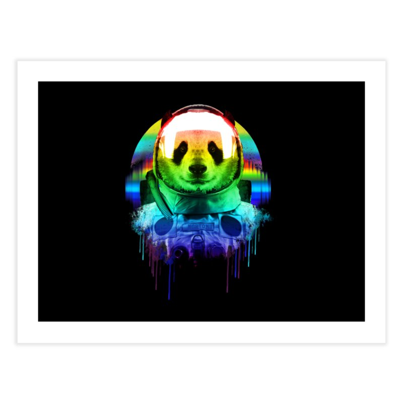 SPACE PANDA Home Fine Art Print by AGIMATNIINGKONG's Artist Shop