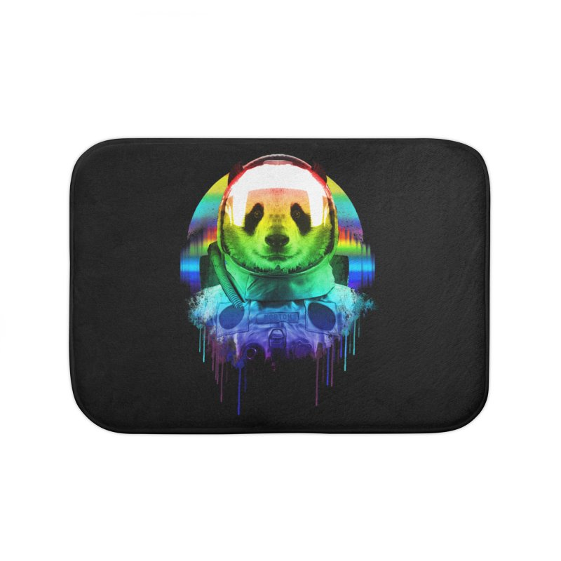 SPACE PANDA Home Bath Mat by AGIMATNIINGKONG's Artist Shop