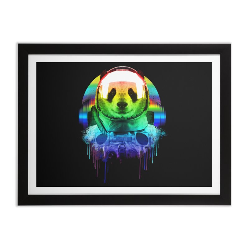 SPACE PANDA Home Framed Fine Art Print by AGIMATNIINGKONG's Artist Shop