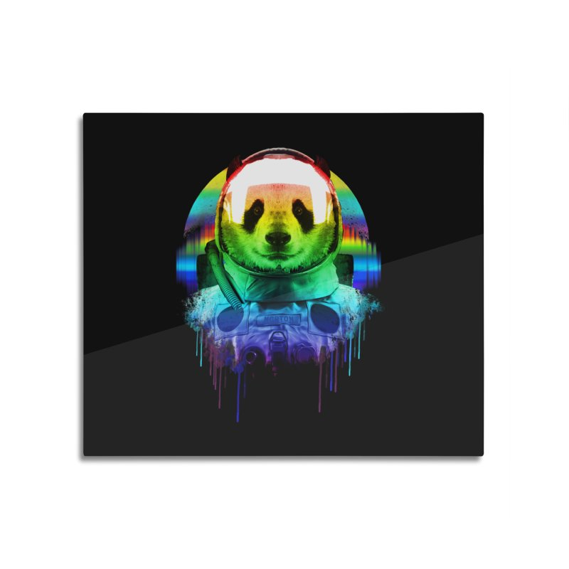 SPACE PANDA Home Mounted Acrylic Print by AGIMATNIINGKONG's Artist Shop