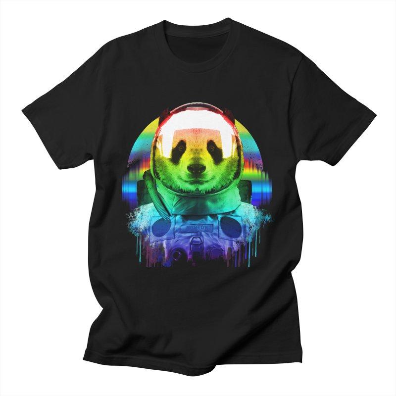 SPACE PANDA Women's Regular Unisex T-Shirt by AGIMATNIINGKONG's Artist Shop