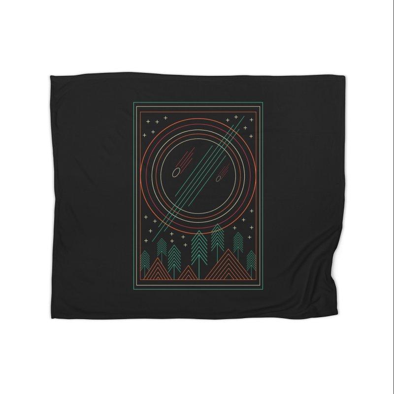 STARRY STARRY NIGHT Home Fleece Blanket Blanket by AGIMATNIINGKONG's Artist Shop