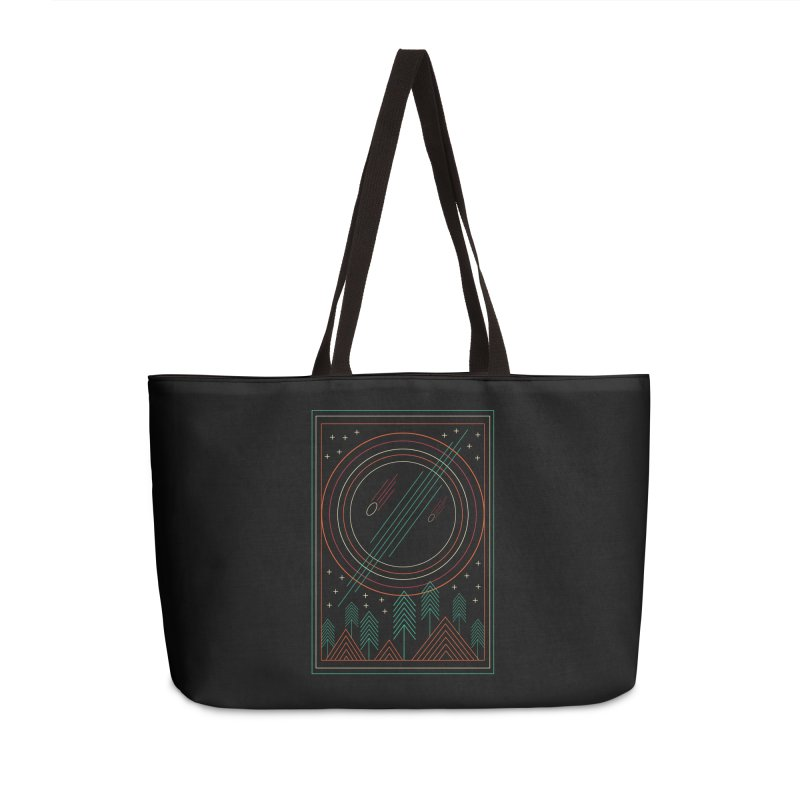 STARRY STARRY NIGHT Accessories Weekender Bag Bag by AGIMATNIINGKONG's Artist Shop