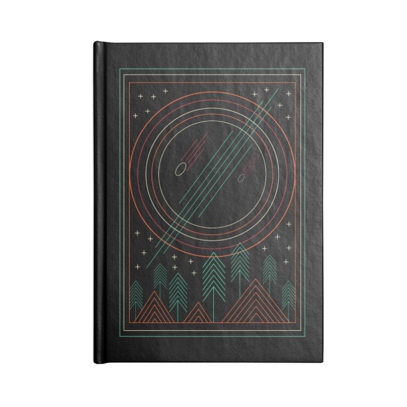 STARRY STARRY NIGHT Accessories Blank Journal Notebook by AGIMATNIINGKONG's Artist Shop