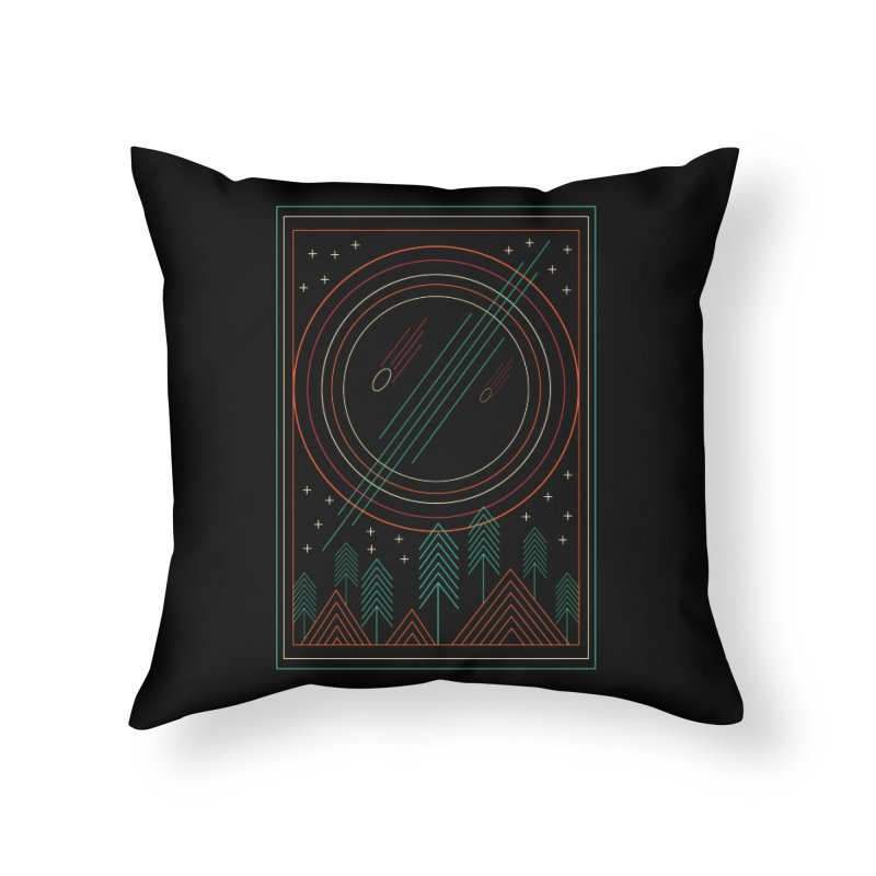 STARRY STARRY NIGHT Home Throw Pillow by AGIMATNIINGKONG's Artist Shop