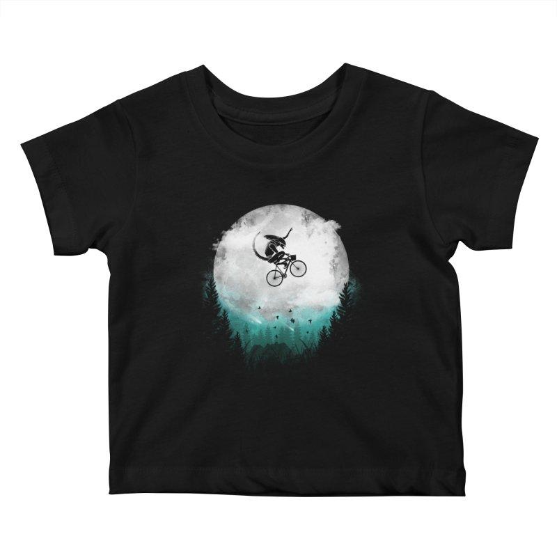 E.T. Extra Twist Kids Baby T-Shirt by AGIMATNIINGKONG's Artist Shop