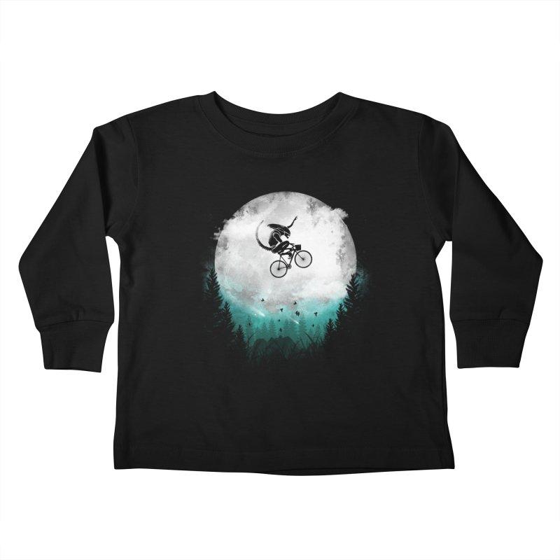 E.T. Extra Twist Kids Toddler Longsleeve T-Shirt by AGIMATNIINGKONG's Artist Shop
