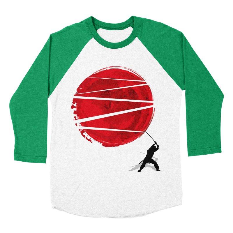 Slice of the Sun Men's Baseball Triblend T-Shirt by AGIMATNIINGKONG's Artist Shop
