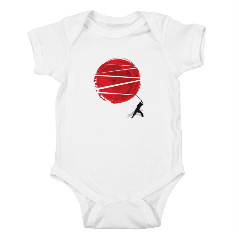 Slice of the Sun Kids Baby Bodysuit by AGIMATNIINGKONG's Artist Shop