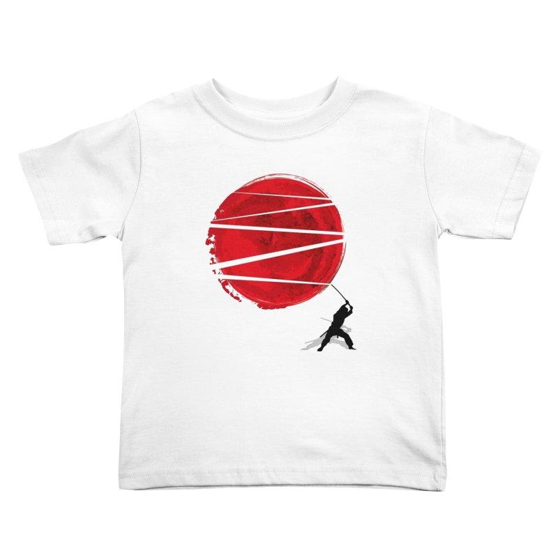 Slice of the Sun Kids Toddler T-Shirt by AGIMATNIINGKONG's Artist Shop
