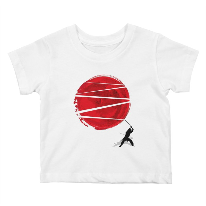 Slice of the Sun Kids Baby T-Shirt by AGIMATNIINGKONG's Artist Shop