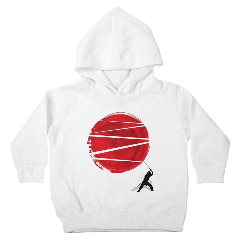 Slice of the Sun Kids Toddler Pullover Hoody by AGIMATNIINGKONG's Artist Shop