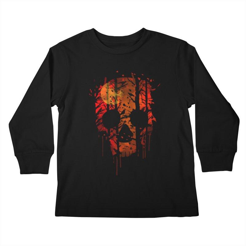 Flock of Birds Kids Longsleeve T-Shirt by AGIMATNIINGKONG's Artist Shop