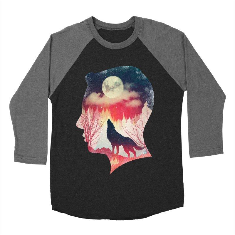 Silence Breaker Men's Baseball Triblend T-Shirt by AGIMATNIINGKONG's Artist Shop