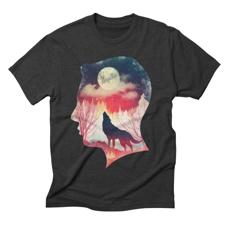 Silence Breaker Men's Triblend T-shirt by AGIMATNIINGKONG's Artist Shop