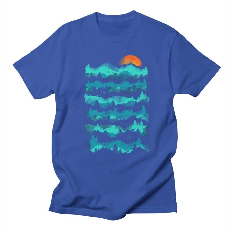 Nature Levels Men's T-shirt by AGIMATNIINGKONG's Artist Shop