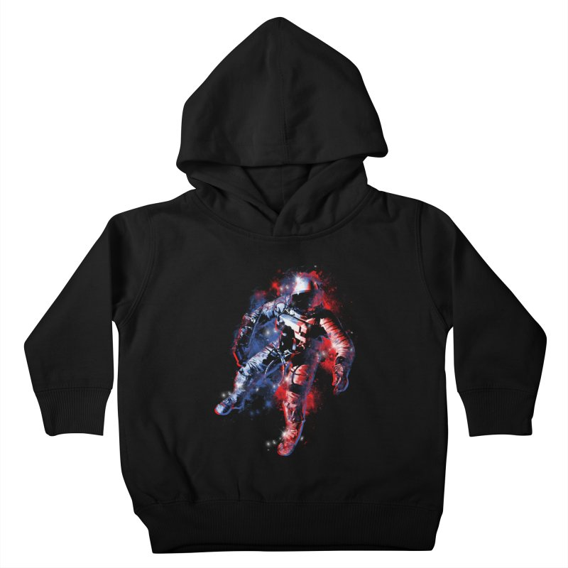 SPACE ODDITY Kids Toddler Pullover Hoody by AGIMATNIINGKONG's Artist Shop
